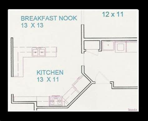 11 x 11 kitchen floor plans click to view full size image