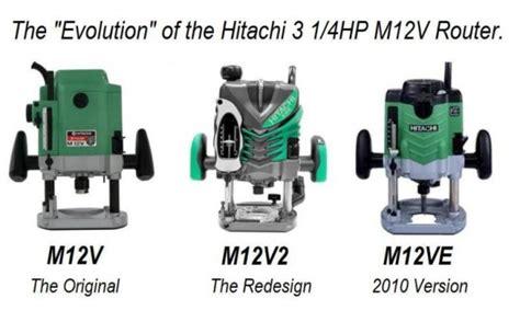 Hitachi M12v2 Vs M12ve Router Forums