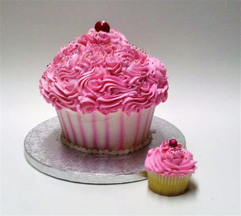 Cupcake Birthday Chubie cupcake shaped cake