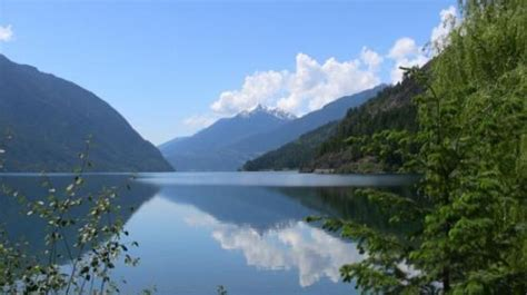lake bc picture of lillooet columbia