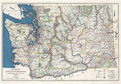 Wa State Road Map by Similiar Washington State Road Map Keywords