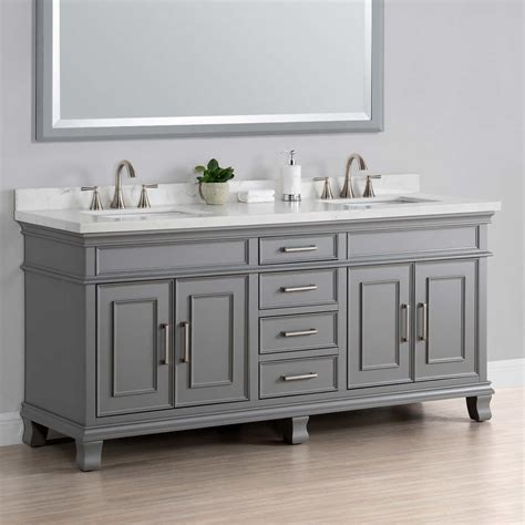 Costco Bathroom Vanity Costco 72 Sink Vanity With Backsplash Best Sink Decoration