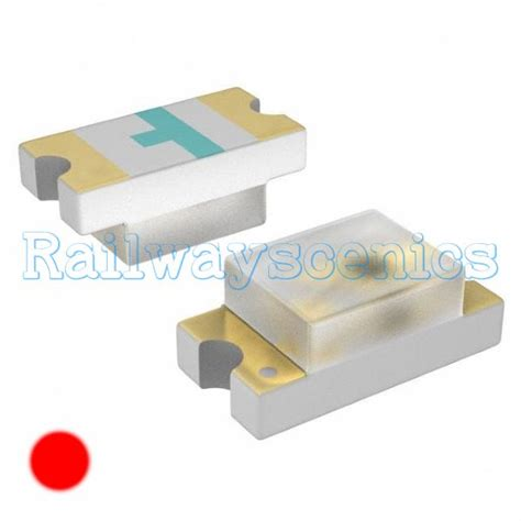 Led Smd 0603 Merah 0603 surface mounting led 1 6mm x 0 8mm x 0 6mm railwayscenics