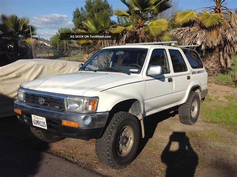 where to buy car manuals 2011 toyota 4runner engine control 1993 toyota 4runner owners manual