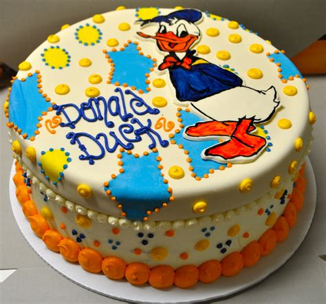 birthday cake donald duck cakes decoration ideas little birthday cakes