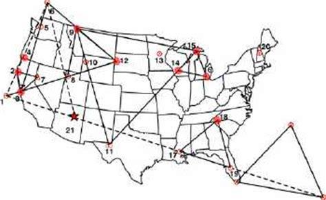 american vortex map vortexmaps authentic vortexes around america