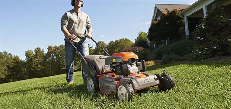 husqvarna push mowers awd walk and commercial lawn mowers