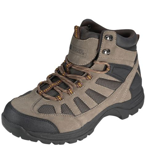 mens ridge mid hiker rugged outback payless shoes