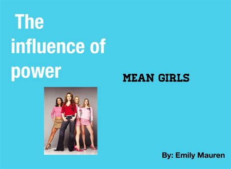 themes in mean girl mean girls theme project on flowvella presentation
