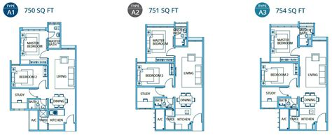 service apartment layout plan h2o ara damansara malaysia freehold service apartment