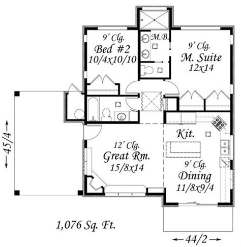 small master suite floor plans feng shui small home 1076 sq ft build the master