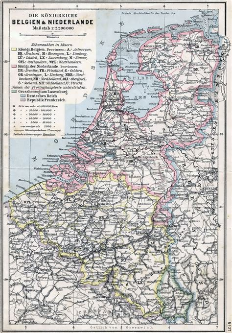 map of netherlands belgium and large detailed political map of belgium and