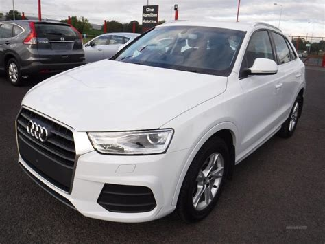 audi q3 se used 2016 audi q3 se tdi for sale in tyrone pistonheads