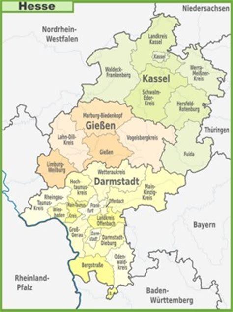 hesse maps   germany   maps of hesse (hessen)
