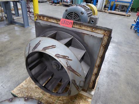 twin city exhaust used exhaust blower twin city 20 hp steel exhaust blower