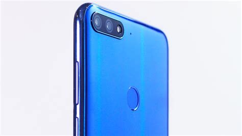 mystic blue color huawei y7 prime 2018 is now available in mystic blue color