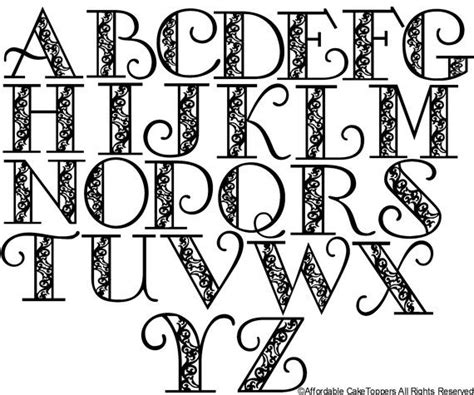 Letter Drawings 25 Best Ideas About Monogram Letters Font On Monogram Letters Free Printable