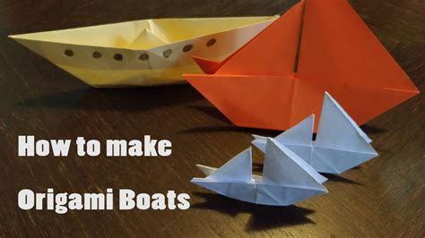 How To Make A Origami With Stem - how to make an origami boat step by step guide stem