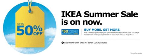 does ikea ever have sales when does ikea have sales ikea canada summer sale save up