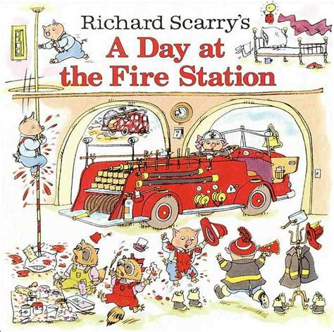 the station books the richard scarry books