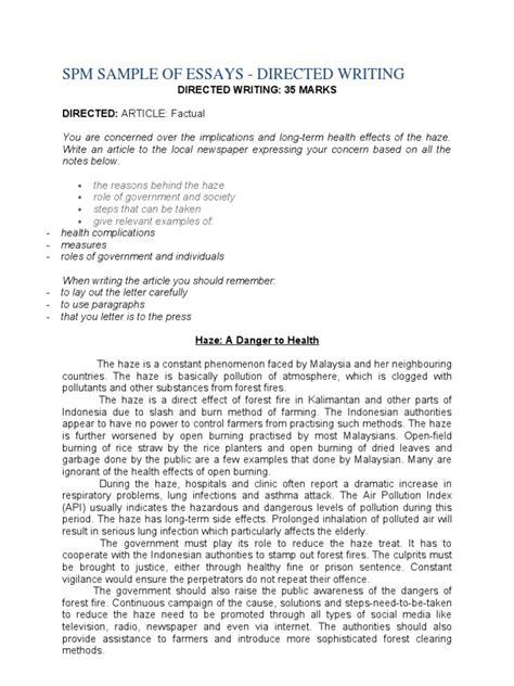 Spm Essay by Spm 1119 Essay