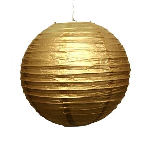 12 quot gold paper lanterns