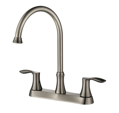 8 kitchen faucet 8 centerset two handle kitchen faucet ksk8238bn oakland