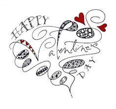 pattern interrupt ideas zentangle hearts on pinterest zentangle heart doodle