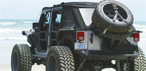 jeep rear bumper jeep jk rear bumper tire carriers fab fours