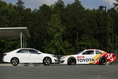 Nascar Toyota Toyota Reveals 2013 Nascar Camry Racecar Engineering