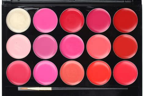 Make Lip Color Pallette 15 color lip gloss palette boardwalkbuy