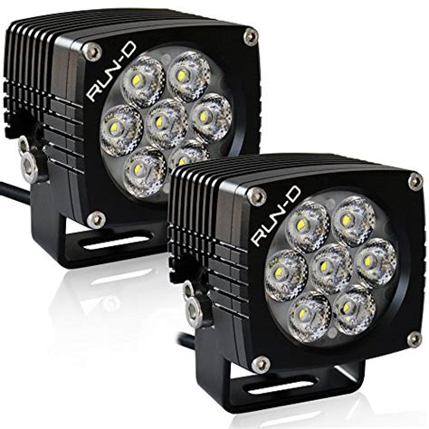 led offroad lights amazon run d cube led driving lights 35w 3 inch cree road