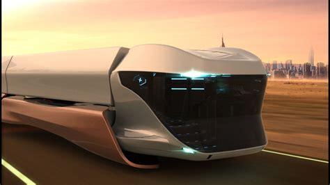 future truck scania maglev future truck concept
