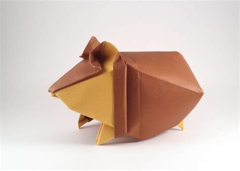 How To Make An Origami Hamster - origami rats mice and rodents page 1 of 5 gilad s