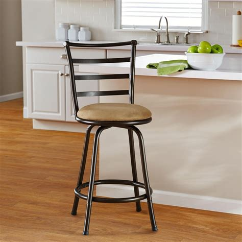 Kitchen Counter Swivel Stools With Backs by Kitchen Bar Stools With Backs The Kienandsweet Furnitures