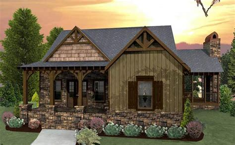 Craftsman House Plans With Porch by 3 Bedroom Craftsman Cottage House Plan With Porches