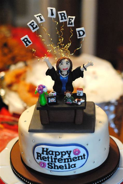 Best 25 ideas about Retirement Cake Ideas Find what youll love