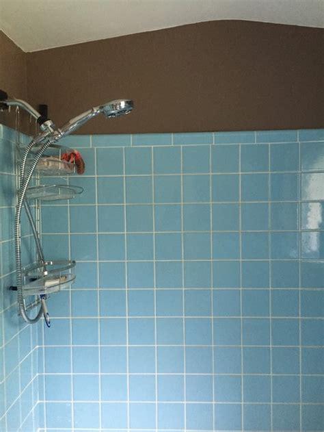 bathroom tiles blue colour vintage blue tile in bathroom what color to paint walls