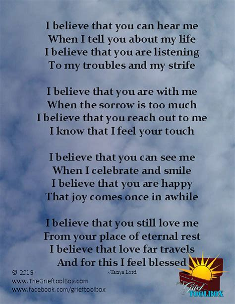 Parent Letter N1 i believe has no limitations a poem the grief toolbox