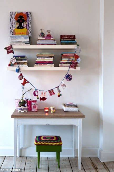interiors special creative family home daily mail online interiors happy kitschmas daily mail online