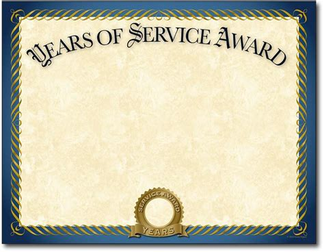 years of service certificate wording 30 free certificate of