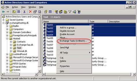 active directory console managing exchange 2007 recipients using the active