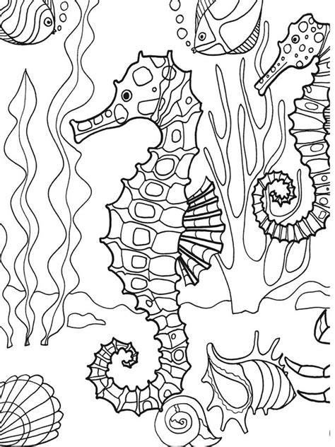 coloring pages dover publications printables pinterest