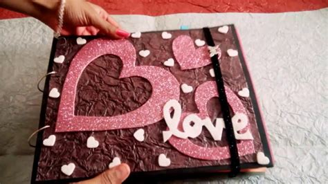 Scrapbook Handmade - lovely handmade scrapbook greeting card for someone