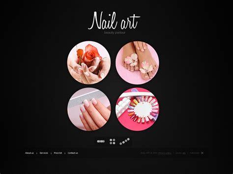 Nail Salon Flash Template Web Design Templates Website Templates Download Nail Salon Flash Nail Salon Website Template Free