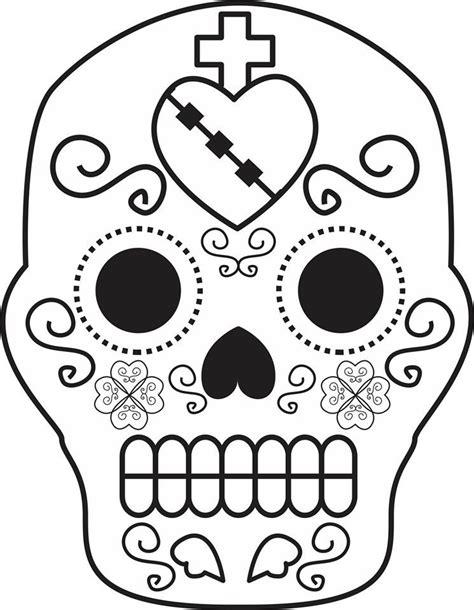 imagenes infantiles para colorear del dia de muertos dibujos para colorear el d 237 a de los muertos 55