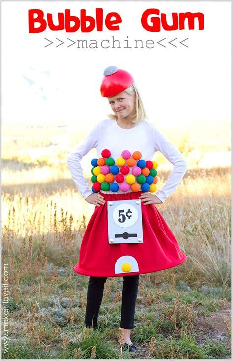 diy halloween costumes gumball machine costume