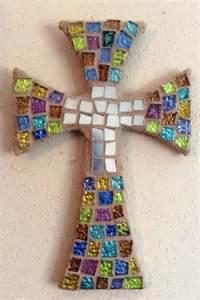 Unique Crosses Home Decor by Handmade Decorative Mosaic Cross Home Decor Wedding