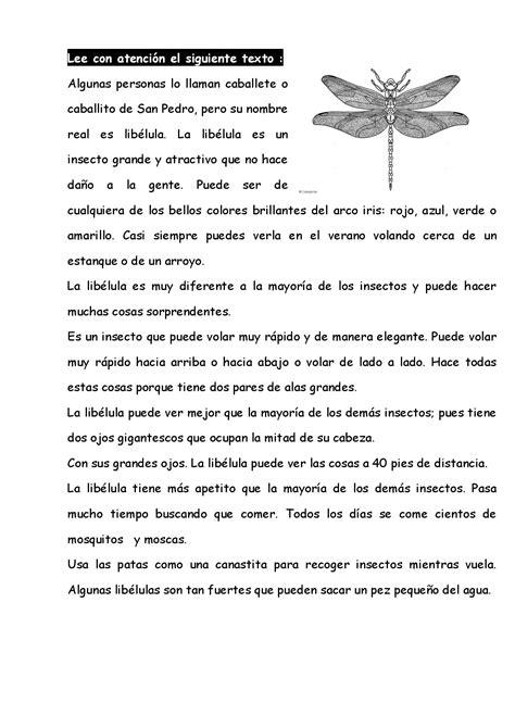 Resumen Y Textos Propios by 20 Textos Compresion Lectora 012 Imagenes Educativas