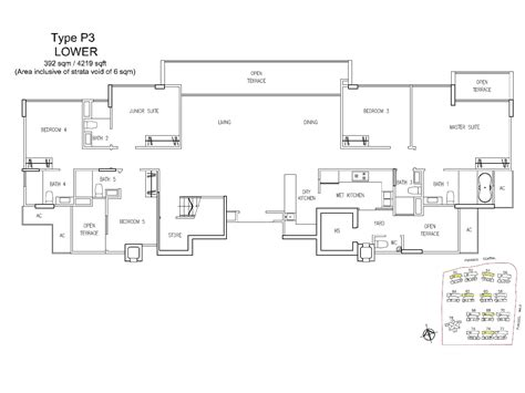 treasure trove floor plan penthouse 5 bed a treasure trove